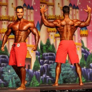 competition men's physique france