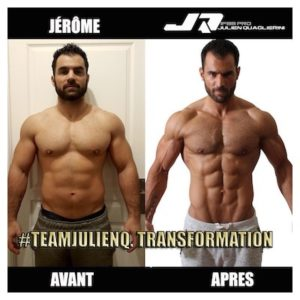 evolution musculation 3 mois