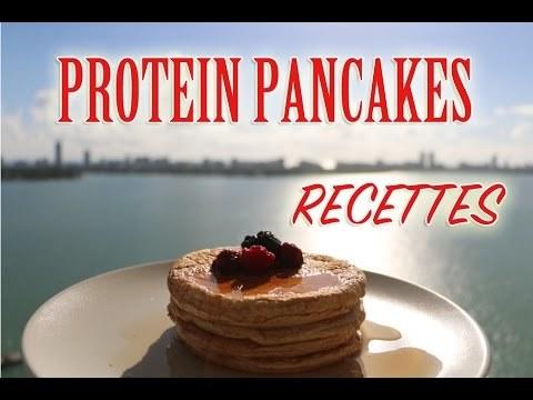 Ma recette de pancakes proteines