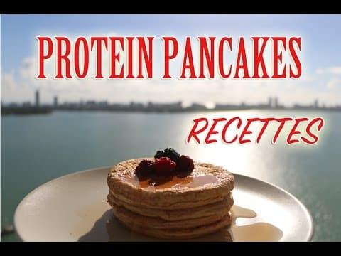 Comment faire les pancakes pour la musculation?