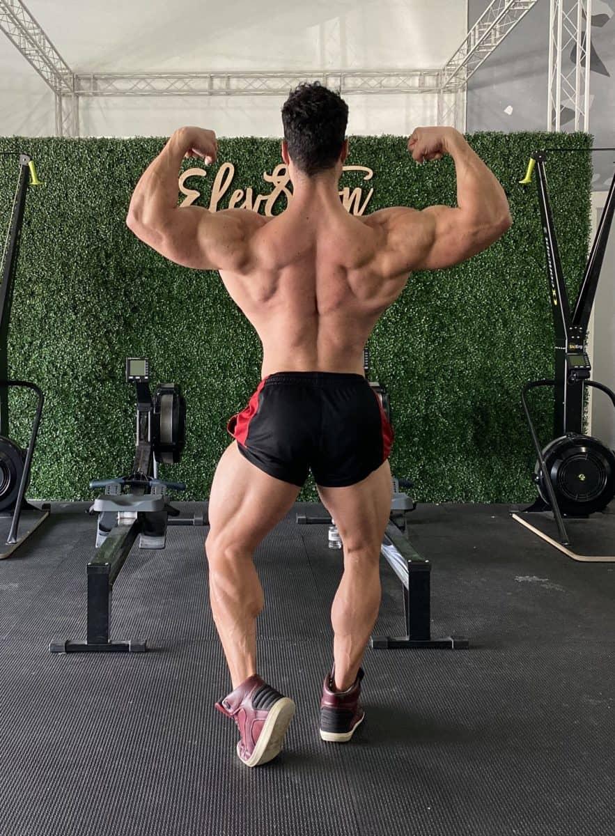 Double biceps de dos