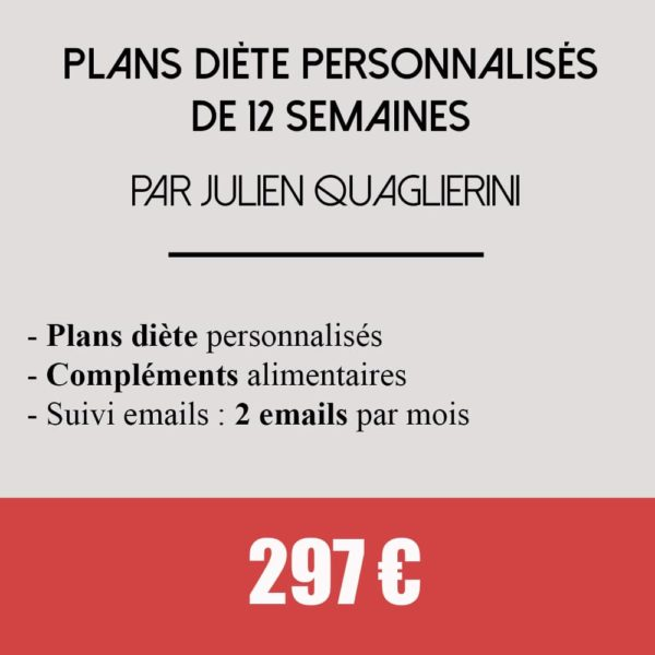 coaching plans diete 12 semaines