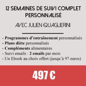 coaching suivi complet Perso