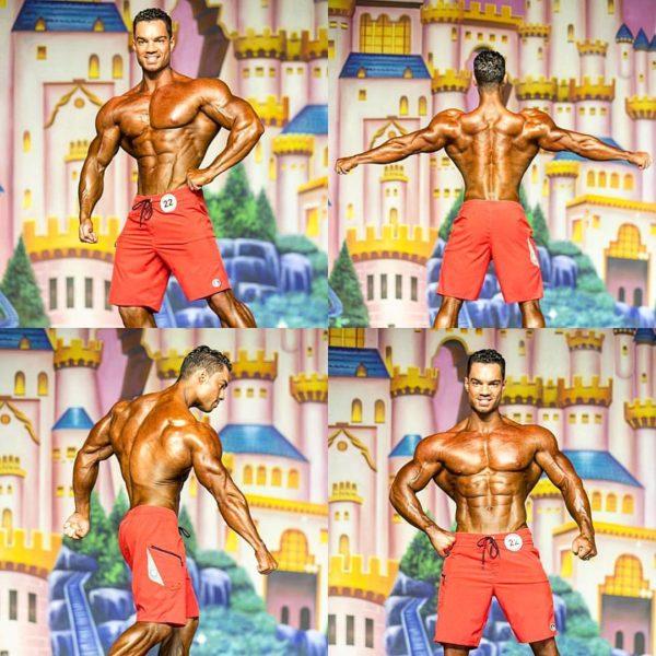 Compétition men's physique ifbb pro