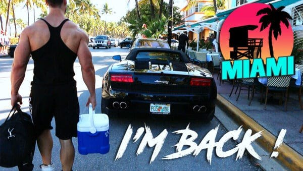 VLOG RETOUR A MIAMI – I'M BACK !!!