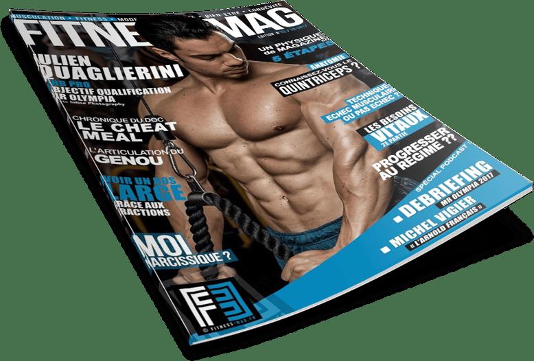 Julien quaglierini couverture fitness mag
