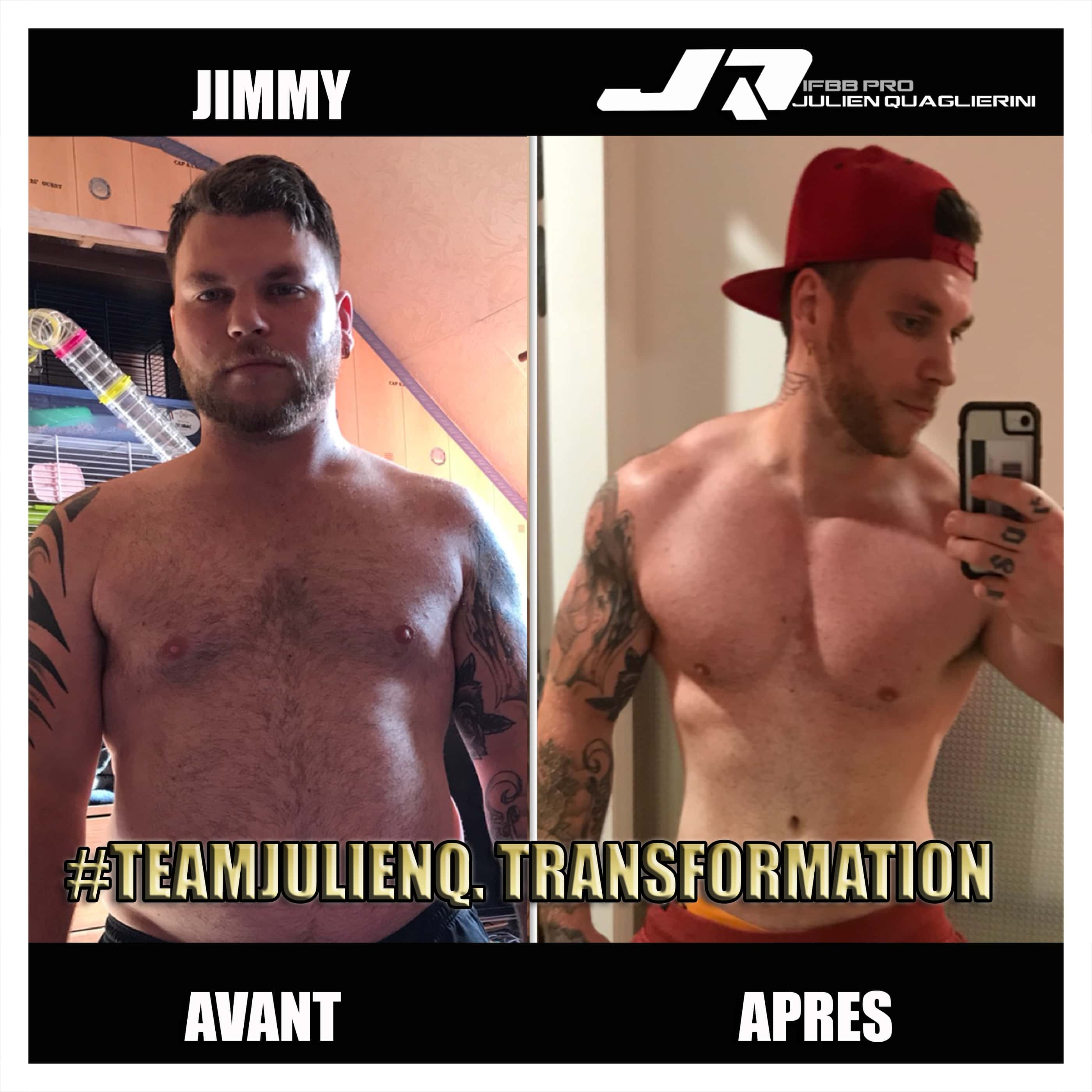 JIMMY_musculation avant apres