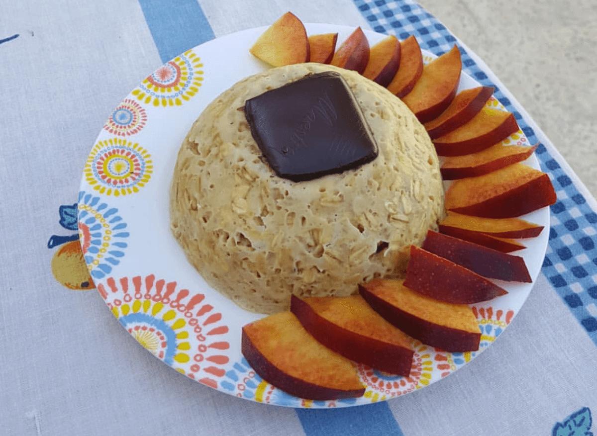 bowl cake flocon d'avoine