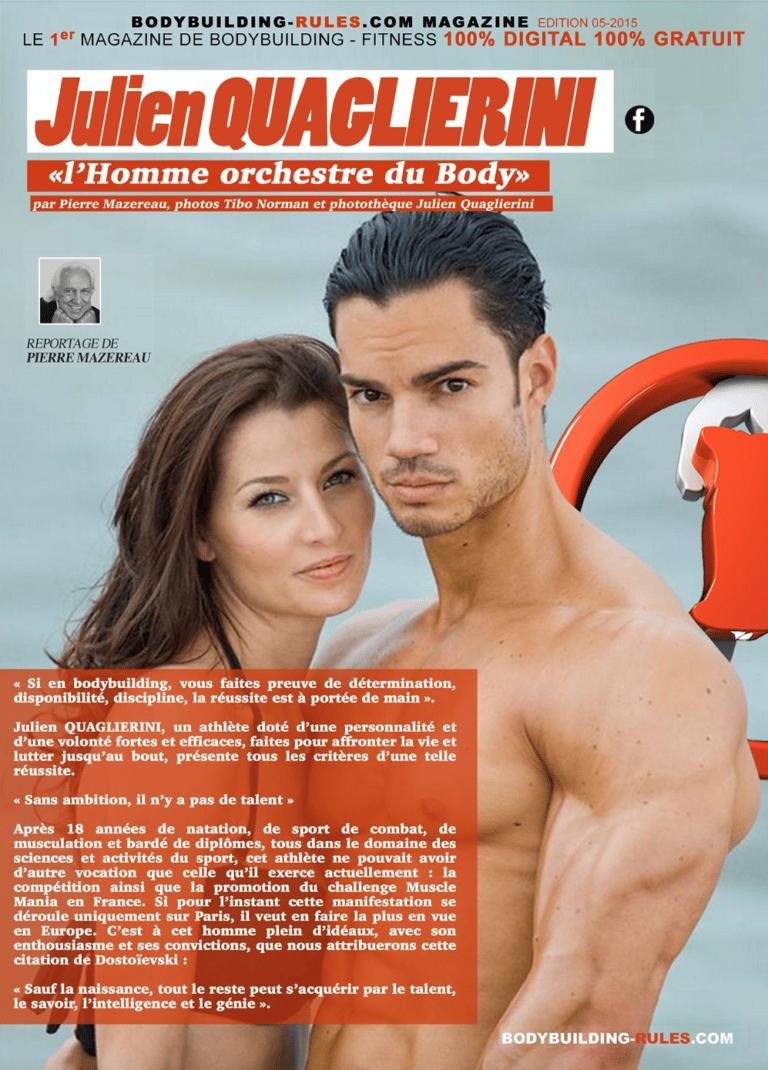 Reportage dans le magazine Bodybuilding Rules