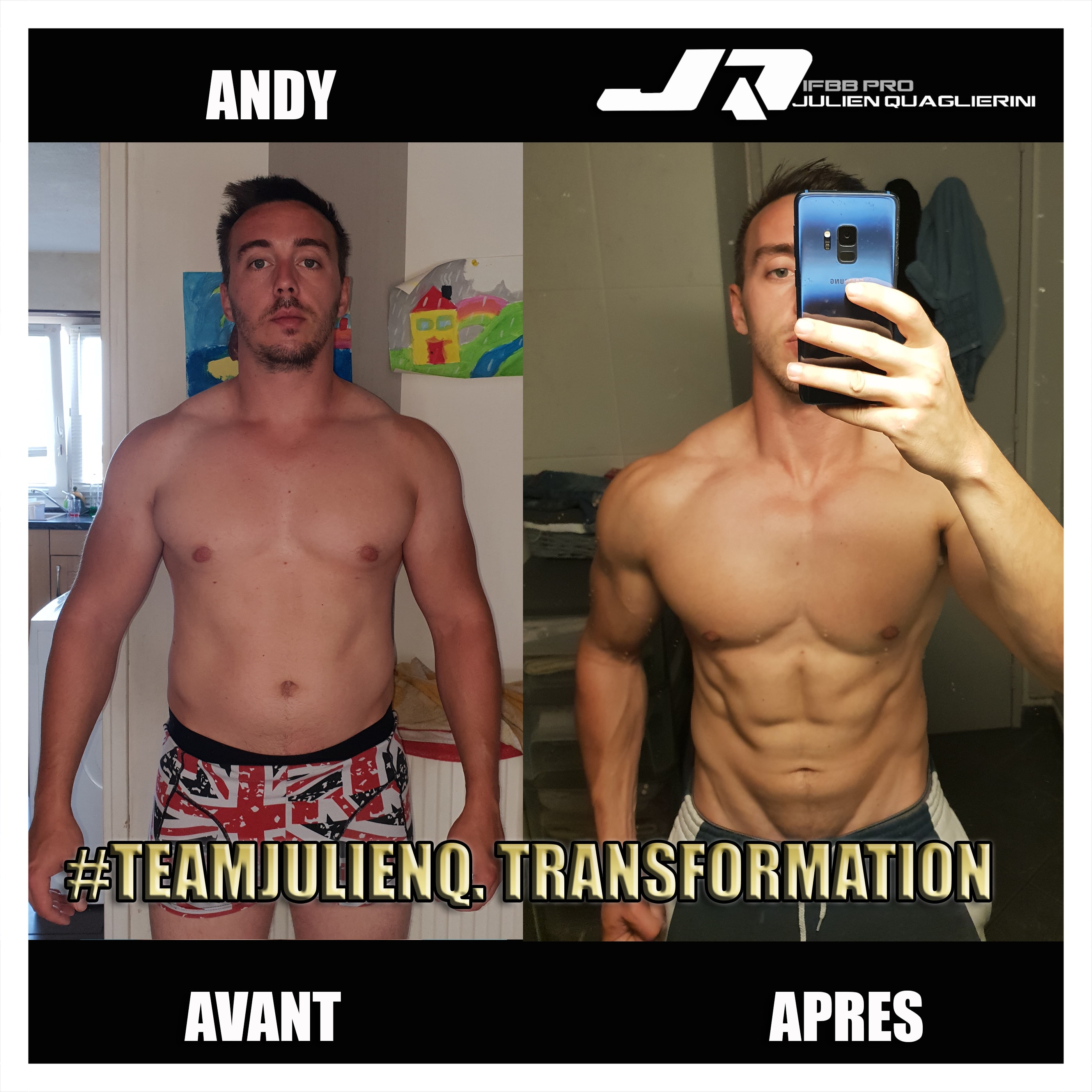 ANDY TRANSFORMATION MUSCULATION