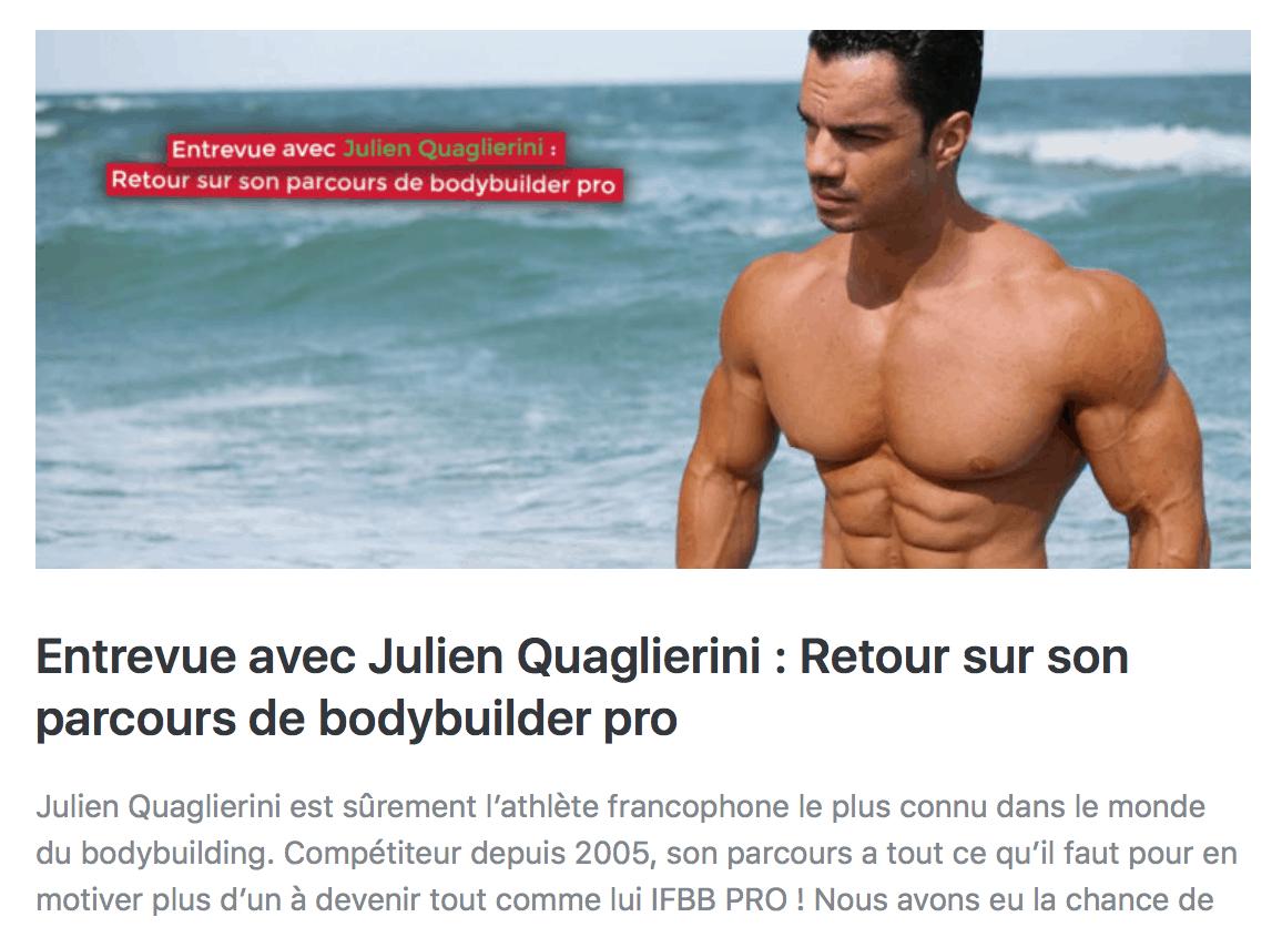 interview julien quaglierini