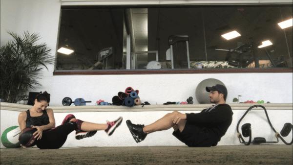 exercice medicine ball