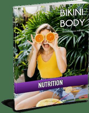 Plan nutrition bikini body