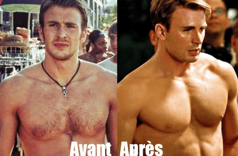 Le programme d'entrainement de Captain America (CHRIS EVANS)
