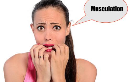 Pourquoi les femmes ont peur de faire de la musculation