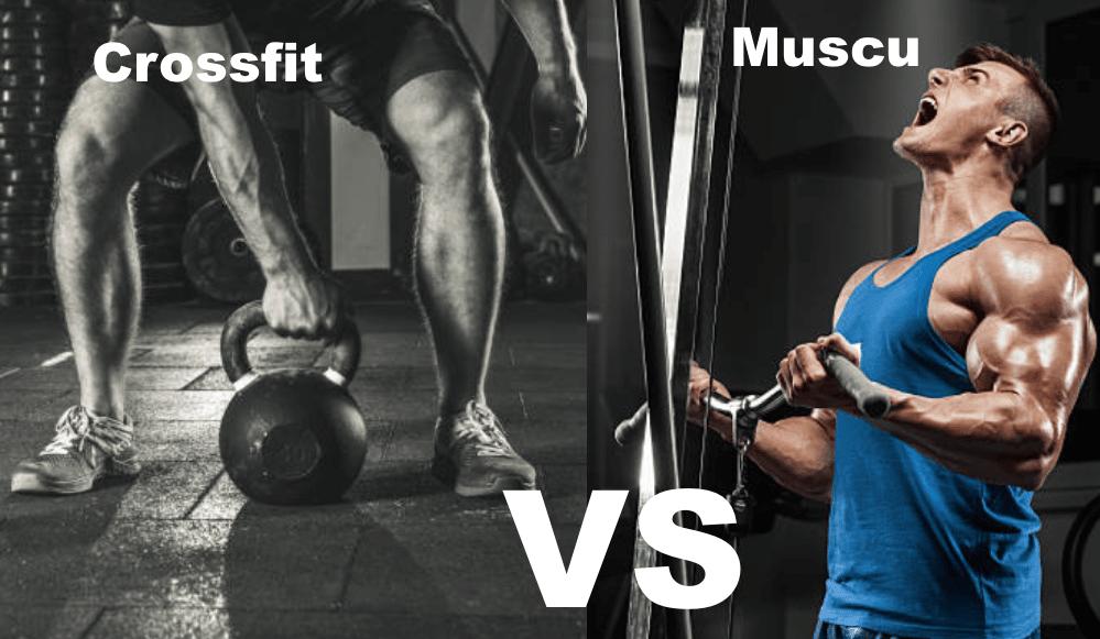 crossfit ou musculation