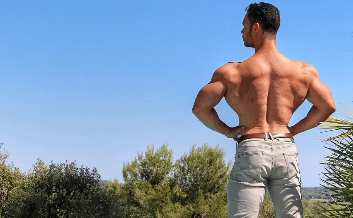programme musculation dos large