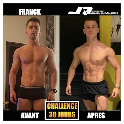FRANCK AVANT APRES