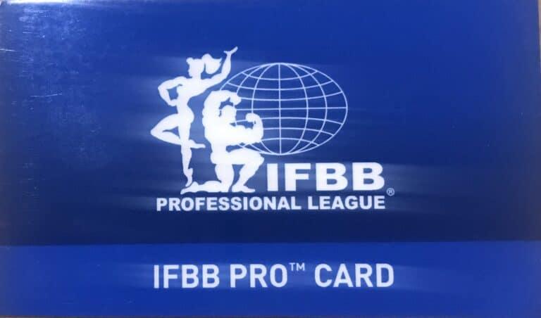 Comment devenir IFBB Pro?