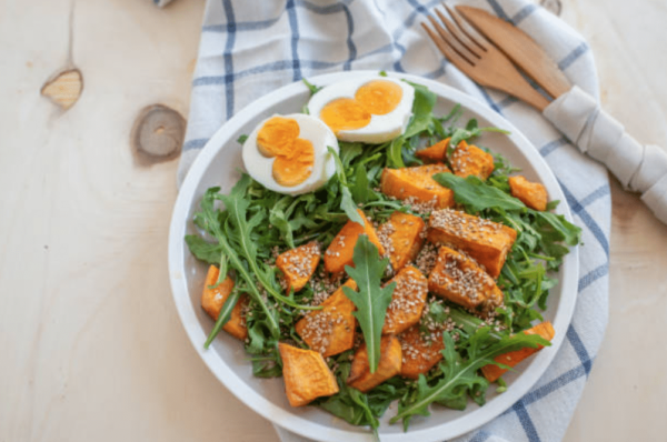 recette patate douce musculation