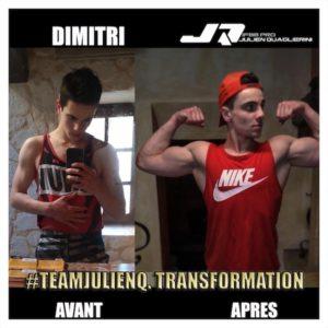 Dimitri Avant Après