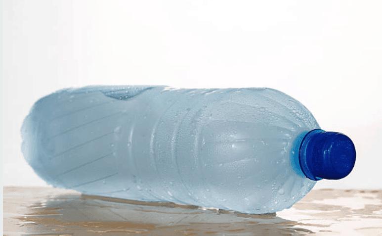 bouteille eau haltères